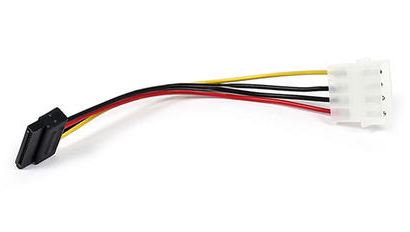 SATA 15Pin-F to 4Pin-M Molex ATX Power Image